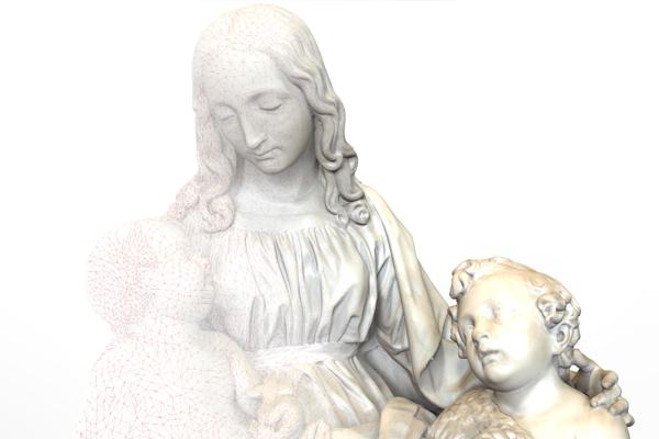 Virgen con el Niño y San Juan