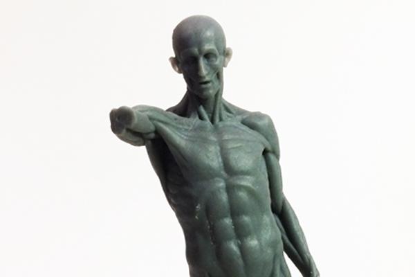 3D print l'Écorché de Houdon